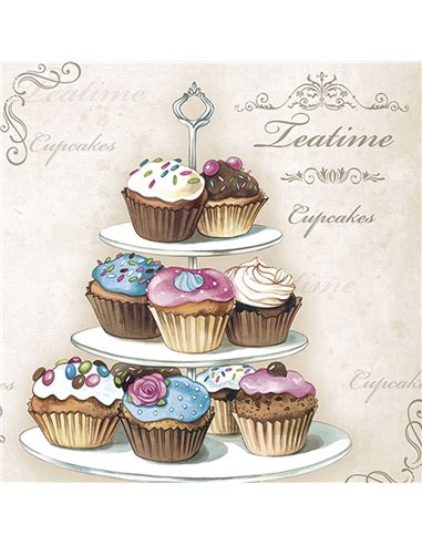 CUPCAKES ON ETAGERE