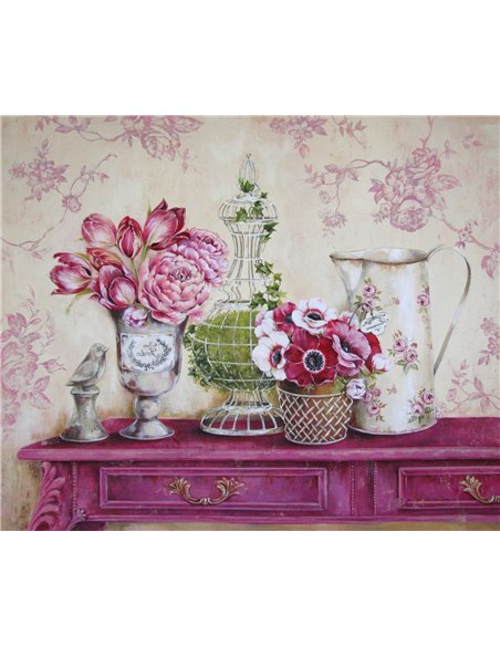 PAPEL PINK HALL TABLE