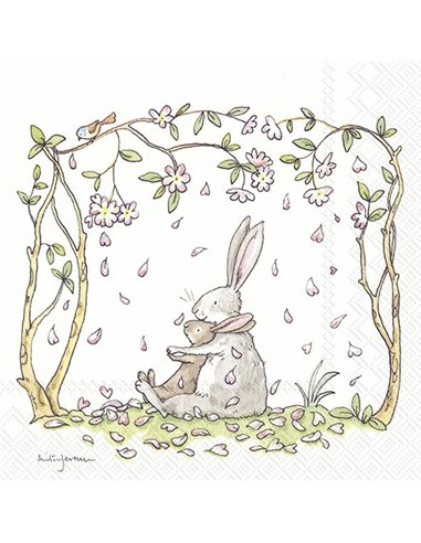 BLOSSOMS AND BUNNIES