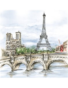 PARIS IN WATERCOLOUR