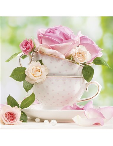 A CUP OF ROSES