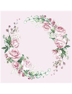 WEDDING WATERCOLOUR WREATH
