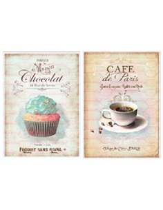 PAPEL CHOCOLATE+CAFE