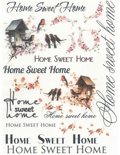 PAPEL HOME SWEET HOME 1