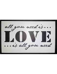 PLANTILLA ALL YOU NEED IS LOVE